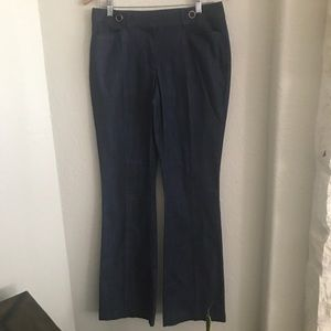 NWT WHBM Mid-Rise Bootcut Trouser Jeans 6 Dark